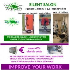 Wind Silent Hair Dryer
